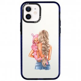 Mother Blonde With Girl Coque iPhone 12/12 Pro