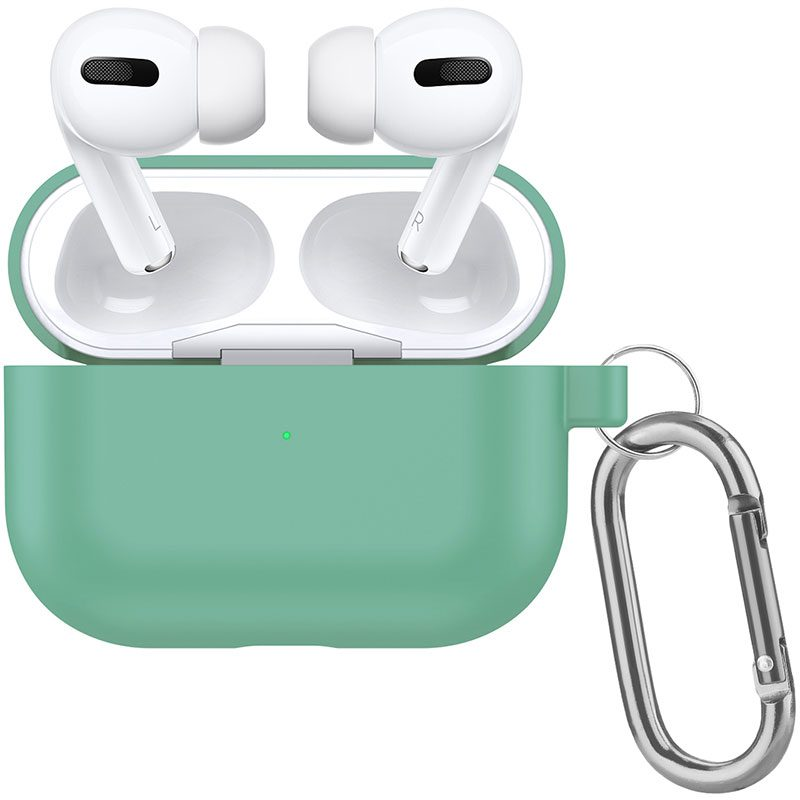 Silicone Coque Airpods Pro Protective Mint Green