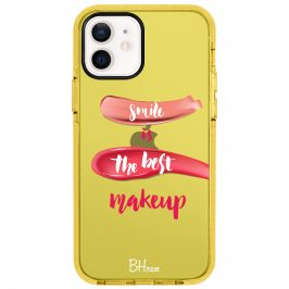 Smile Is The Best Makeup Coque iPhone 12/12 Pro