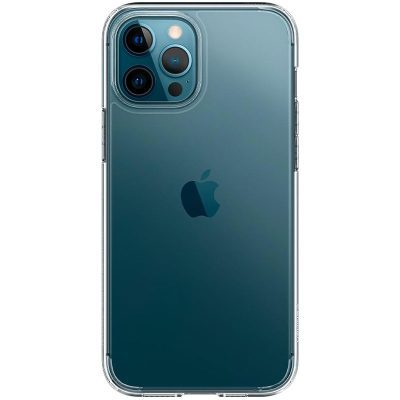 Spigen Ultra Hybrid Crystal Clear Coque iPhone 12 Pro Max