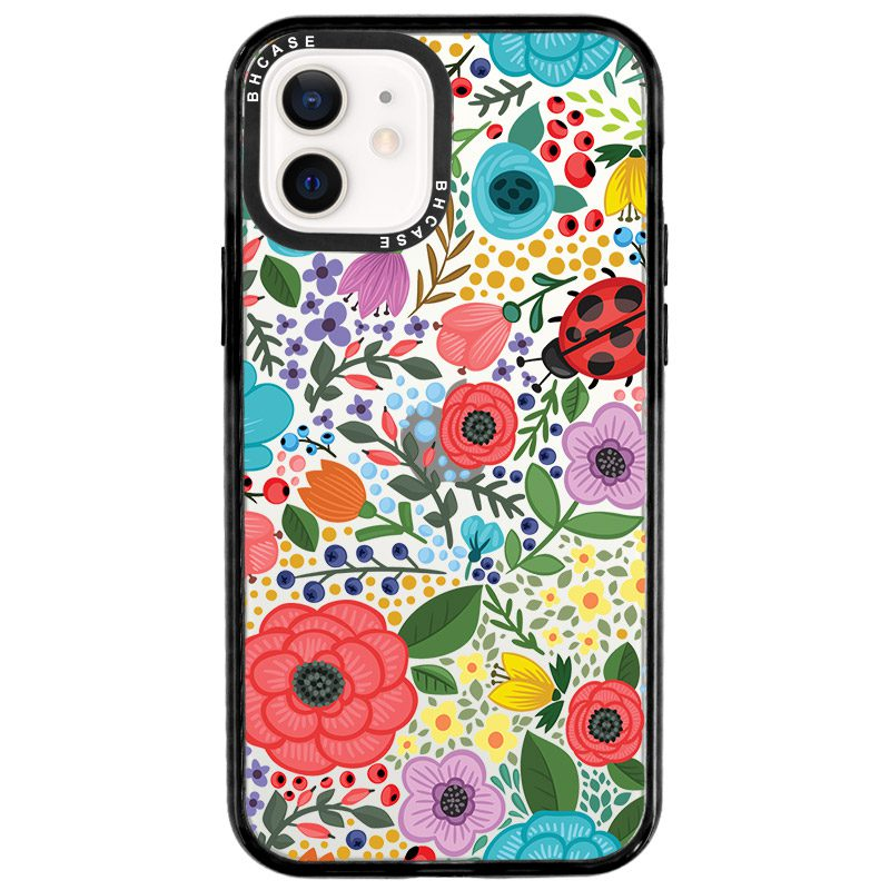 Spring Flowers Coque iPhone 12/12 Pro