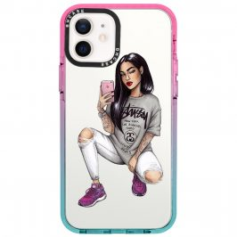 Stussy Girl Coque iPhone 12/12 Pro