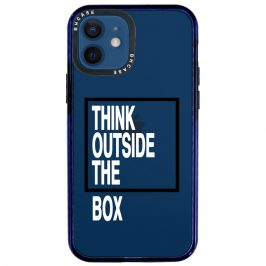 Think Outside The Box Coque iPhone 12/12 Pro