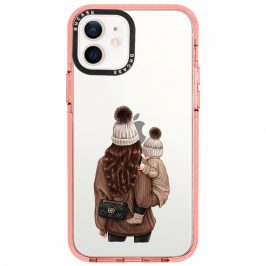 Warm Wishes Mom Brown Hair Coque iPhone 12/12 Pro