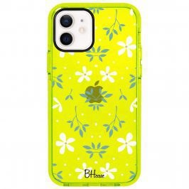 White Floral Coque iPhone 12/12 Pro