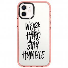 Work Hard Stay Humble Coque iPhone 12/12 Pro