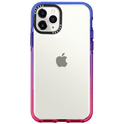 Clair BHholo Blue-Pink Coque iPhone 11 Pro