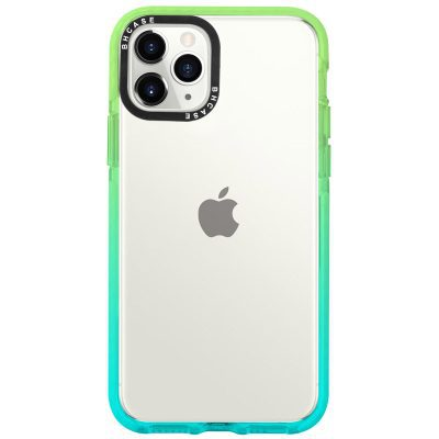 Clair BHholo Green-Cyan Coque iPhone 11 Pro