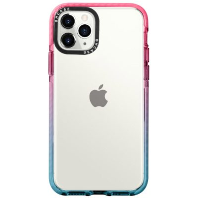 Clair BHholo Pink-Cyan Coque iPhone 11 Pro