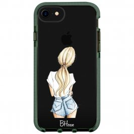 Blonde Back Girl Coque iPhone 8/7/SE 2 2020