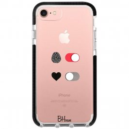 Brain On Heart Off Coque iPhone 8/7/SE 2 2020