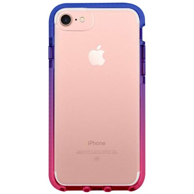 Clair Noholo Blue-Pink Coque iPhone 8/7/SE 2 2020
