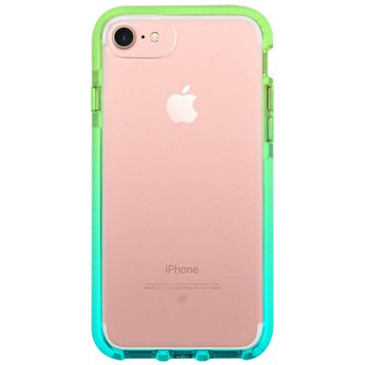Clair Noholo Green-Cyan Coque iPhone 8/7/SE 2 2020