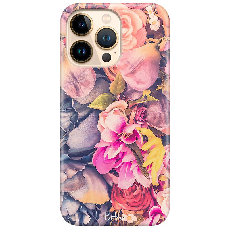 Colorful Flowers Coque iPhone 13 Pro Max