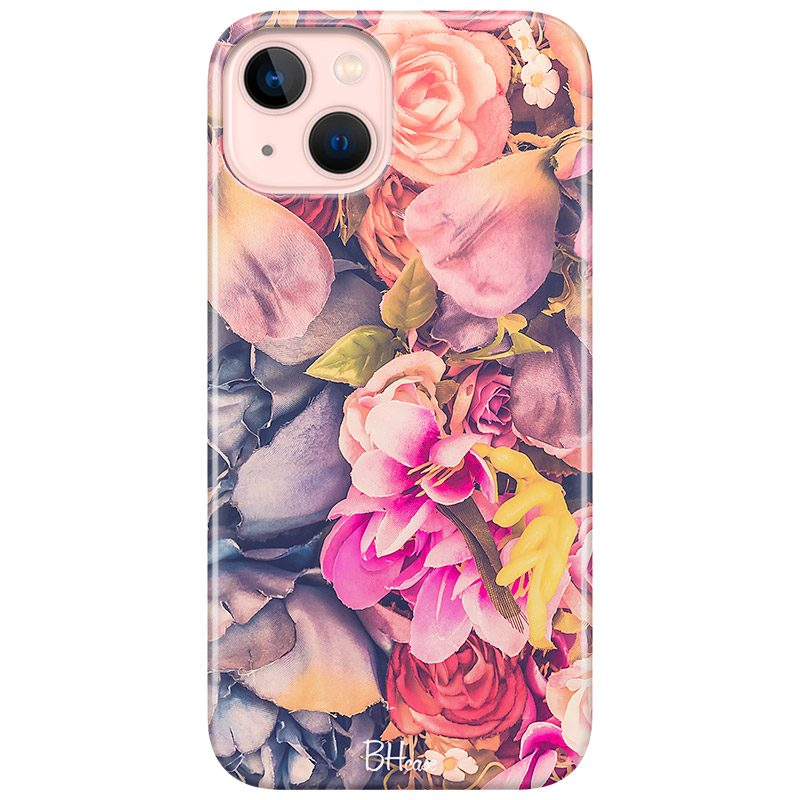 Colorful Flowers Coque iPhone 13