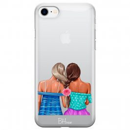 Girl Friends Coque iPhone 8/7/SE 2 2020