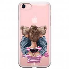 Mom Of Girl Twins Coque iPhone 8/7/SE 2 2020