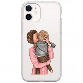 Mom With Baby Coque iPhone 12/12 Pro