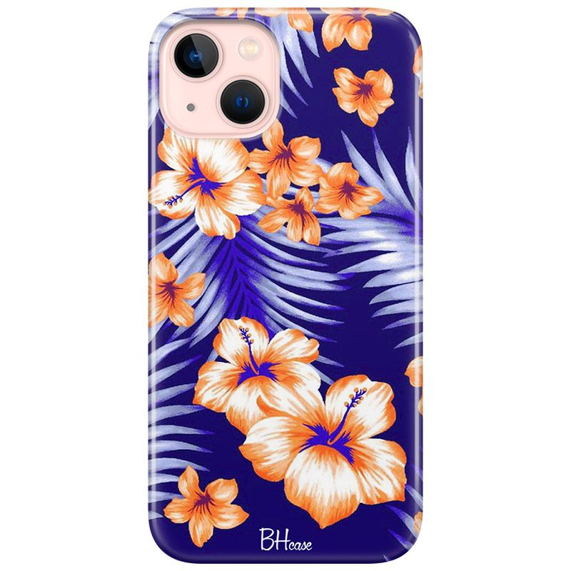 Night Floral Coque iPhone 13