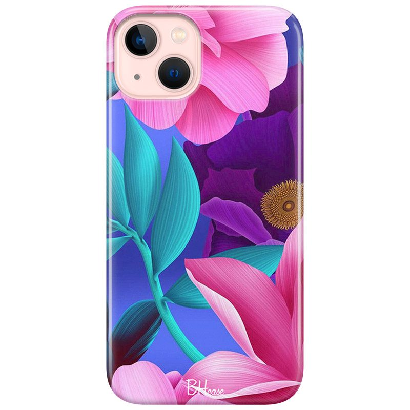 Pinky Floral Coque iPhone 13