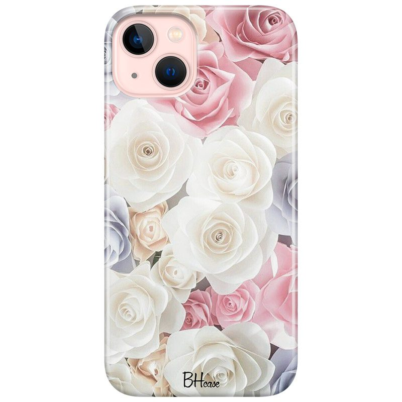 Roses Old Coque iPhone 13
