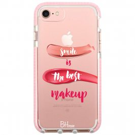 Smile Is The Best Makeup Coque iPhone 8/7/SE 2 2020