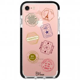 Travel Stamps Coque iPhone 8/7/SE 2 2020