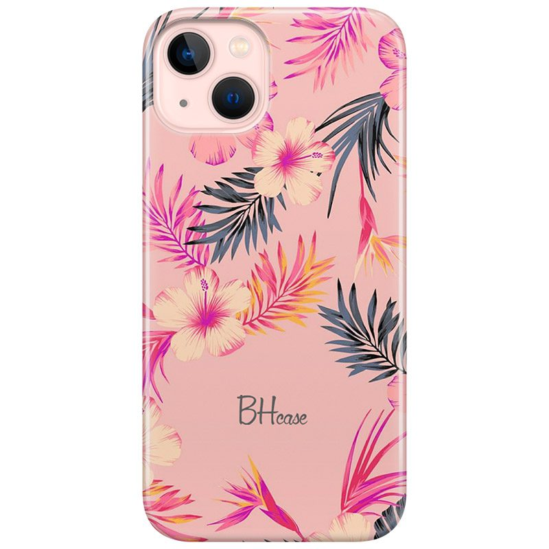 Tropical Pink Coque iPhone 13