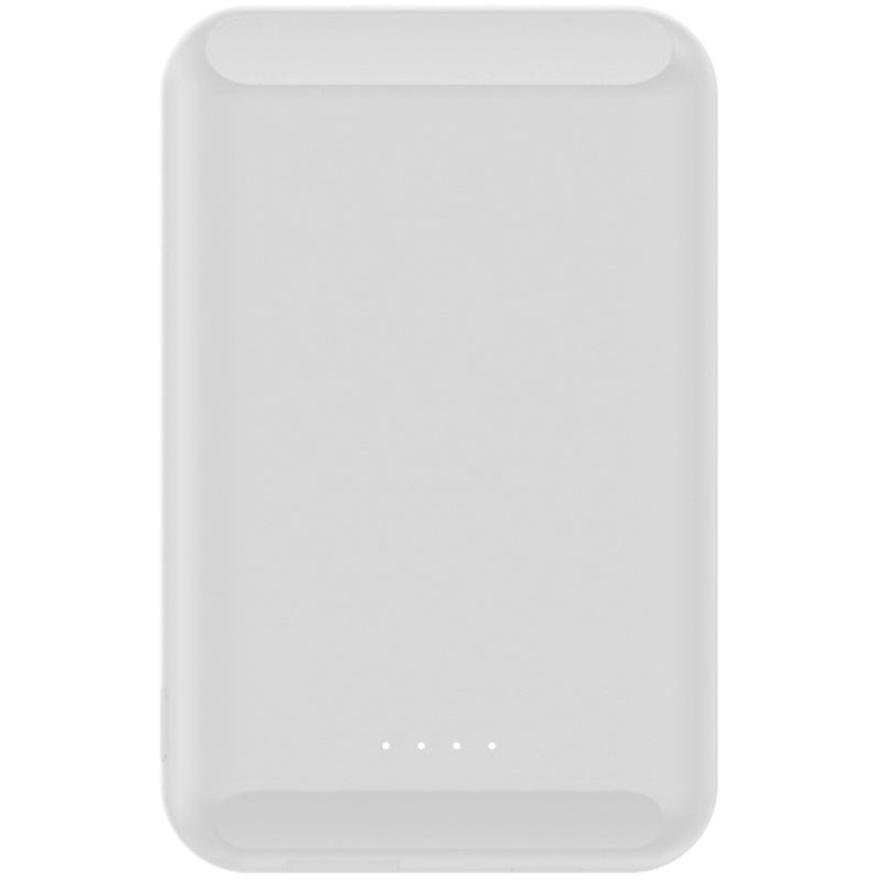 Wireless 5W Power Bank 5000mAh with MagSafe White