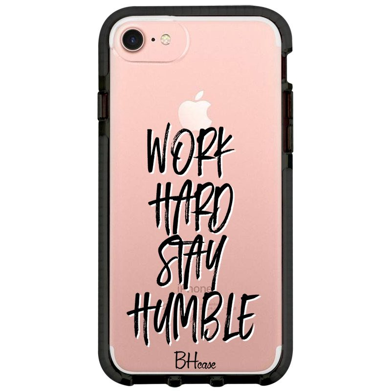 Work Hard Stay Humble Coque iPhone 8/7/SE 2 2020