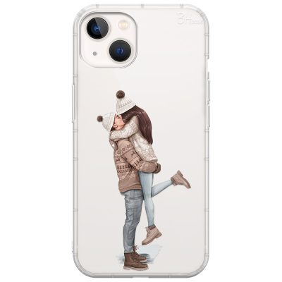 All I Want For Christmas Brown Hair Coque iPhone 13