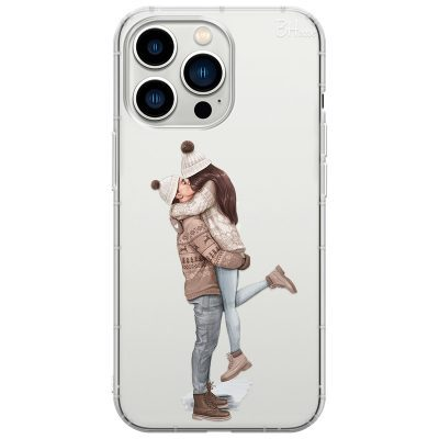 All I Want For Christmas Brown Hair Coque iPhone 13 Pro Max