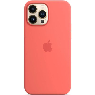 Apple Pink Pomelo Silicone MagSafe Coque iPhone 13 Pro Max