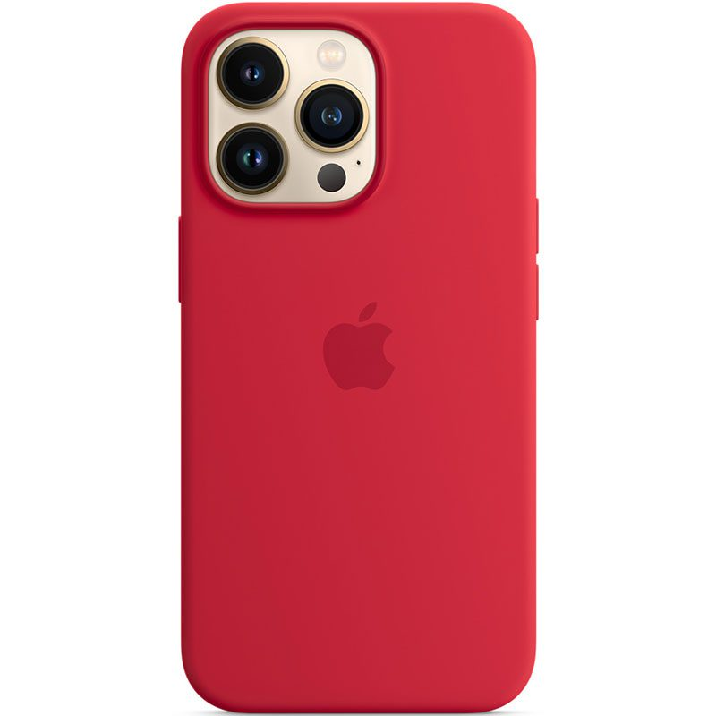 Apple Red Silicone MagSafe Coque iPhone 13 Pro
