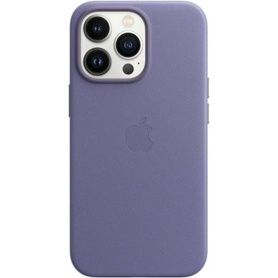Apple Wisteria Leather MagSafe Coque iPhone 13 Pro